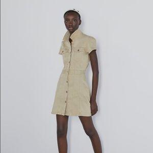 Zara Denim dress with pockets